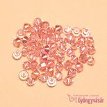 Light Rose AB 223 AB 3 mm Swarovski® bicone